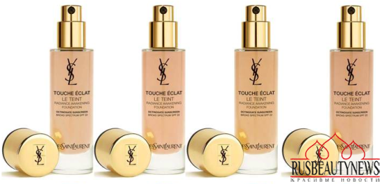 YSL Touche Eclat Le Teint Radiance Awakening Foundation color2