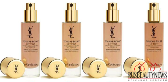 YSL Touche Eclat Le Teint Radiance Awakening Foundation color4