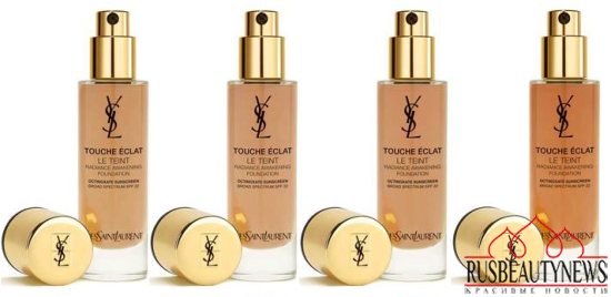 YSL Touche Eclat Le Teint Radiance Awakening Foundation color5