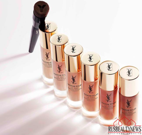 YSL Touche Eclat Le Teint Radiance Awakening Foundation look1