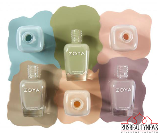 Zoya Whispers Spring 2016 Collection