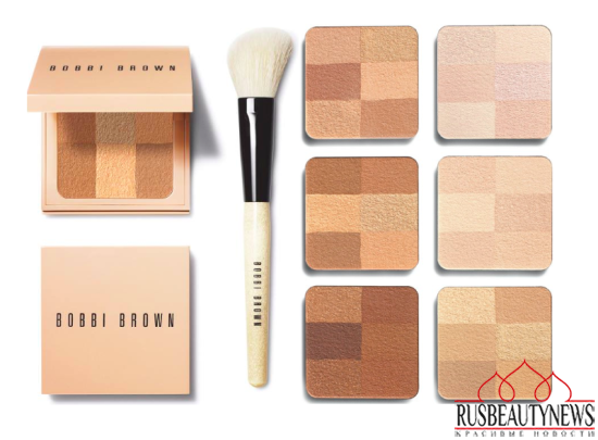 Bobbi Brown Nude Finish 2016 Collection powder look