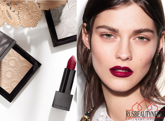 Burberry Velvet & Lace Makeup Collection for Spring 2016