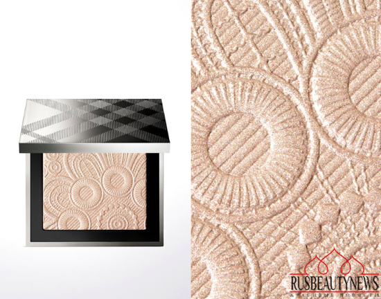 Burberry Velvet & Lace Makeup Collection for Spring 2016 hightlighter1