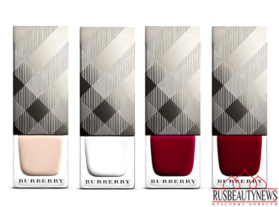 Burberry Velvet & Lace Makeup Collection for Spring 2016 nail color