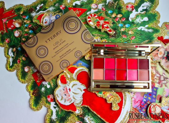 By Terry Gold Jewel Lip Kiss Palette review look1