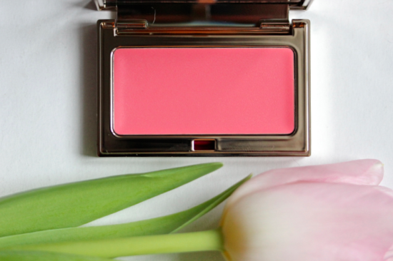 Clarins Multi-Blush 05 Rose review look2
