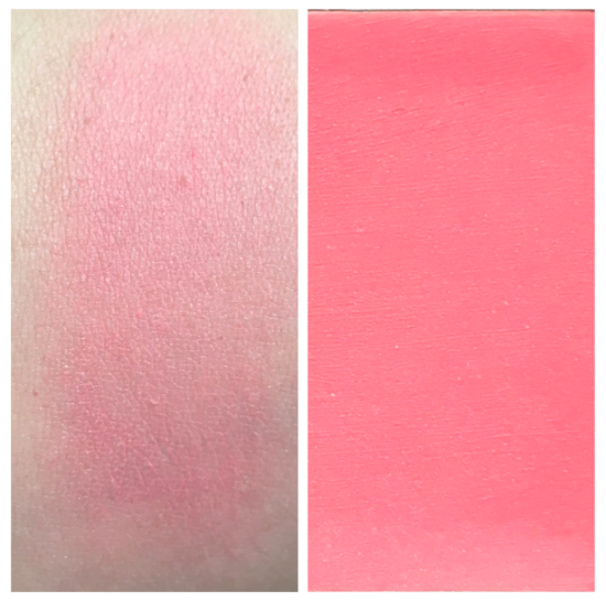 Clarins Multi-Blush 05 Rose swatches