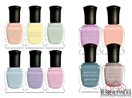 Deborah Lippmann spring 2016Afternoon Delight and Sweets For My Sweet