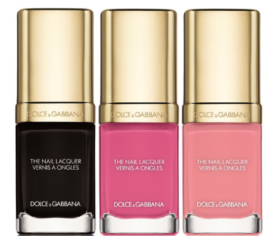 Dolce & Gabbana Rosa Spring 2016 Makeup Collection nail color