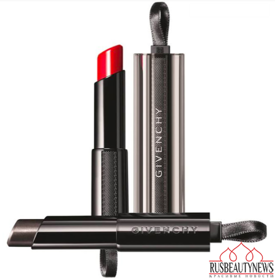 Givenchy Rouge Interdit Vinyl look5
