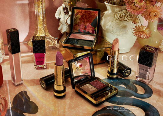 Gucci Cosmetics Spring:Summer 2016 Color Collection look