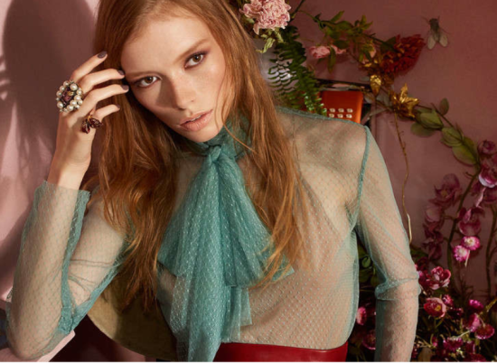 Gucci Cosmetics Spring:Summer 2016 Color Collection look1