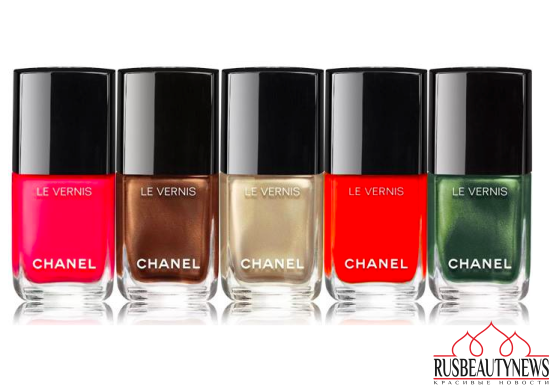 Chanel Dans La Lumiere de L'Ete Summer 2016 Collection nail