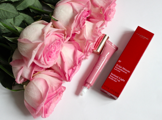 Clarins Eclat Minute 07 Toffee Pink Shimmer Reviev