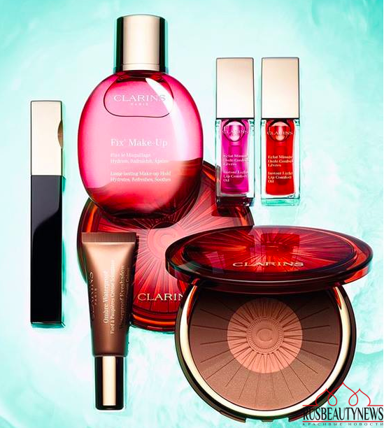 Clarins Hâle D'Été Summer 2016 Collection look2