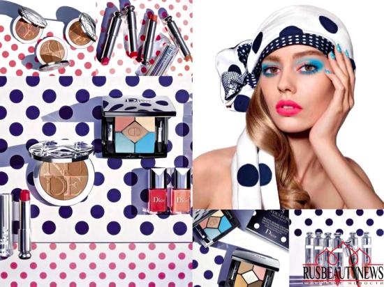 Dior Summer 2016 Milky Dots Collection летняя коллекция макияжа от Диор
