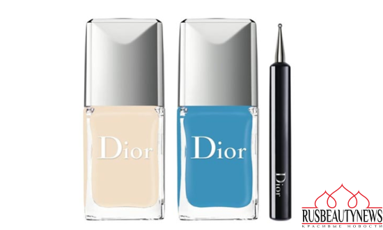 Dior Summer 2016 Milky Dots Collection nail set
