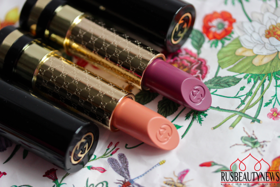 GUCCI Luxurious Lipstick 305 Carnation и 445 Lilac