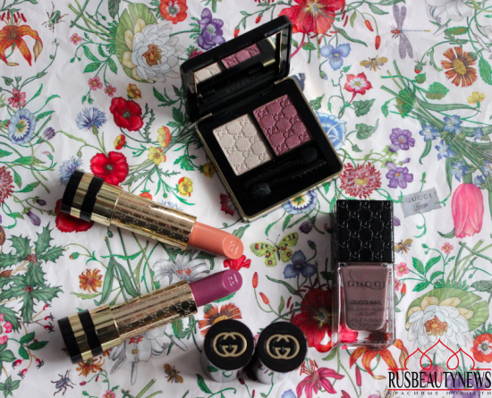 Gucci Cosmetics Spring:Summer 2016 Color Collection Review