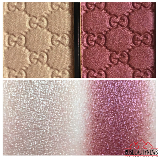 Gucci Magnetic Color Shadow Duo 025 Primrоse swatches