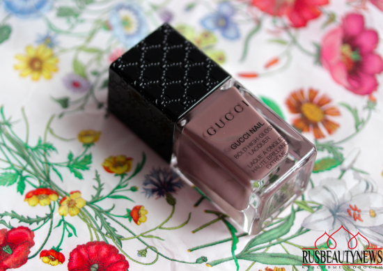 Gucci beauty Bold High Gloss Lacquer 075 Dark Anemone