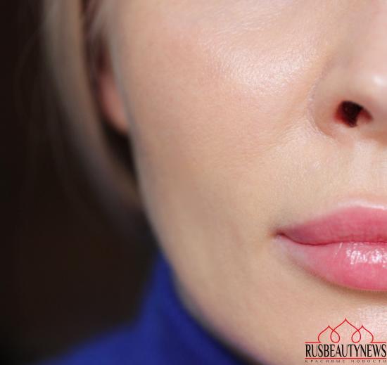 Тональная сыворотка Giorgio Armani Maestro Glow Nourishing Fusion Makeup  Bi-Phase Elixir SPF30 on my skin