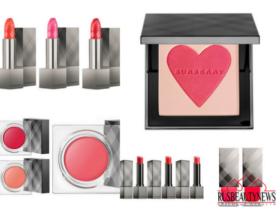 Burberry Cosmetics London with Love Collection for Summer 2016