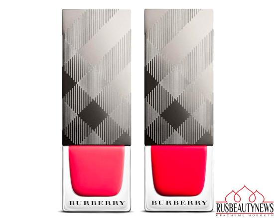 Burberry Cosmetics London with Love Collection for Summer 2016 nail
