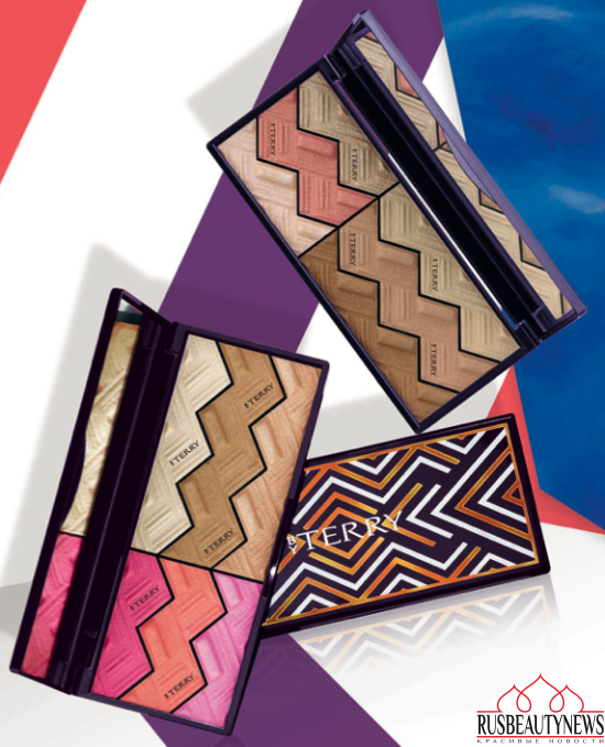 By Terry Sun Cruise Style Collection Summer 2016 palette