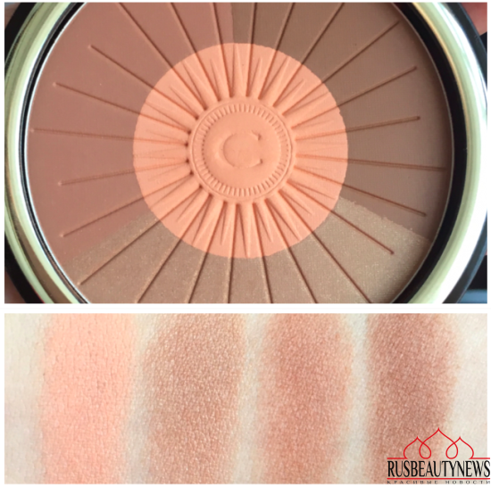Clarins Hâle D'Été Summer 2016 Collection bronzer swatches
