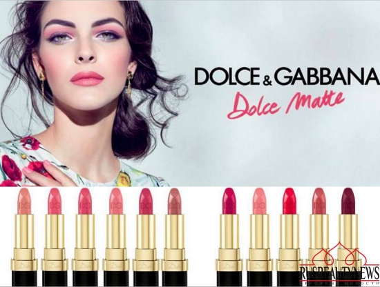Dolce & Gabbana Dolce Matte Lipsticks 2016
