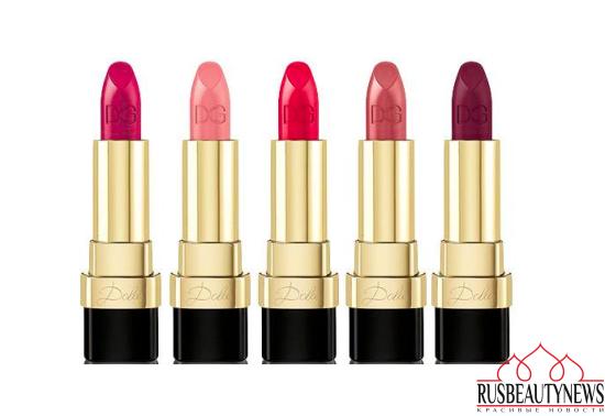 Dolce & Gabbana Dolce Matte Lipsticks 2016 color