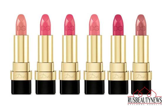 Dolce & Gabbana Dolce Matte Lipsticks 2016 color2