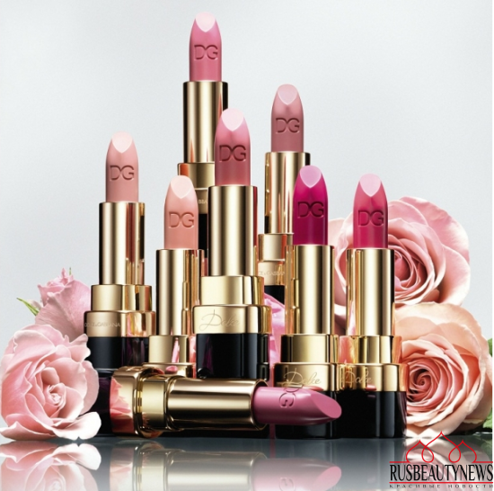 Dolce & Gabbana Dolce Matte Lipsticks 2016 look1