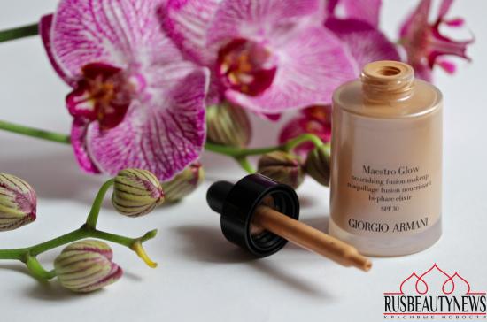 Giorgio Armani Maestro Glow Nourishing Fusion Makeup обзор