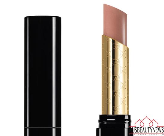 Gucci Sensuous Deep-Matte Lipstick look1
