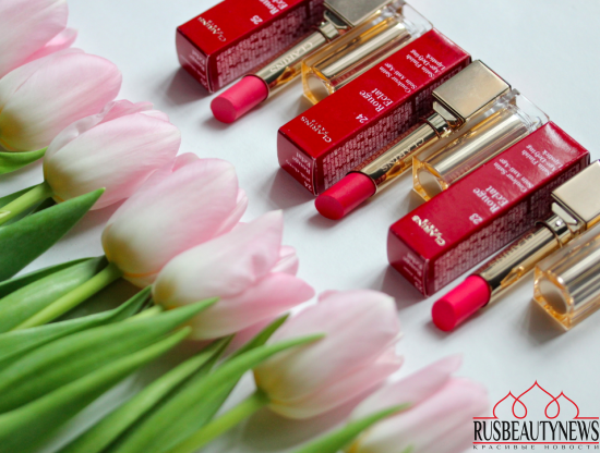 Clarins Rouge Eclat spring 2016 review