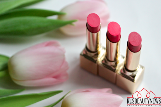 Clarins Rouge Eclat spring collection