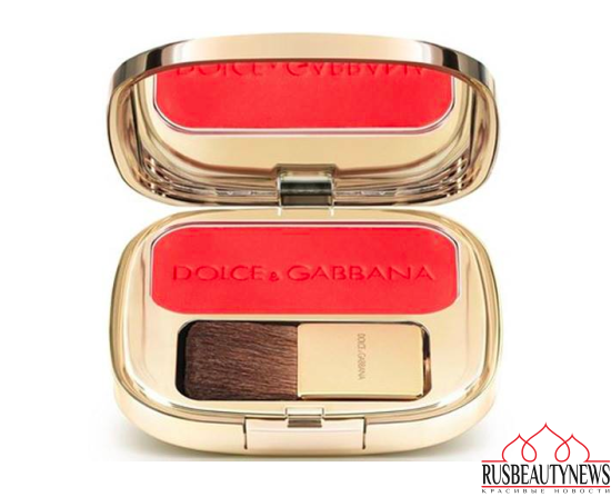 Dolce & Gabbana Summer in Italy Makeup Collection 2016 blush