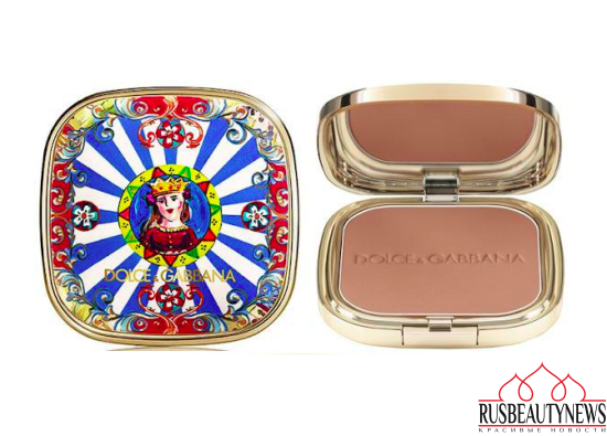 Dolce & Gabbana Summer in Italy Makeup Collection 2016 bronzer