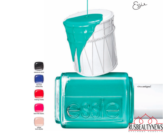 Essie Viva Antigua 2016 Summer Collection
