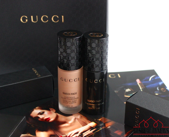 Gucci Silk Priming Serum and Lustrous Glow Foundation Review