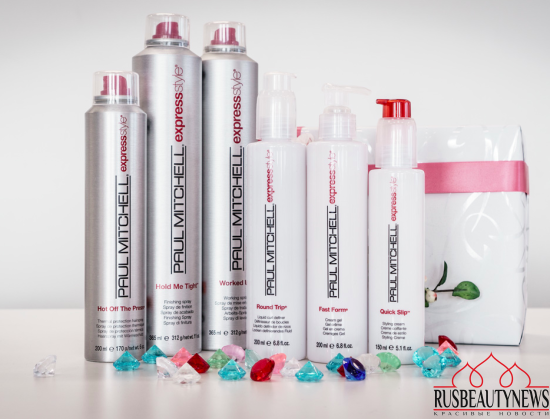 My hair styling experience with Paul Mitchell 3