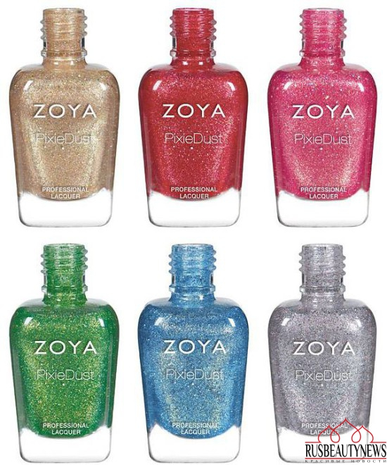Zoya Seashells and Sunsets Summer 2016 Collection 1