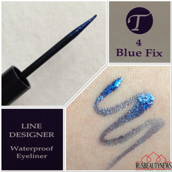 By Terry Line Designer  04 Blue Fix swatches