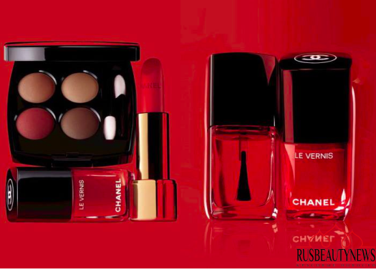 Chanel Le Rouge 2016 Fall Collection look3