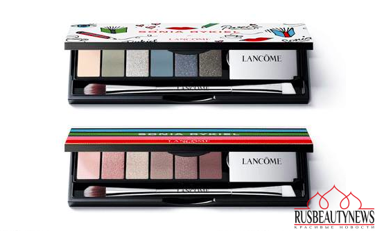 Lancome Sonia Rykiel Fall 2016 Makeup Collection eyepalette