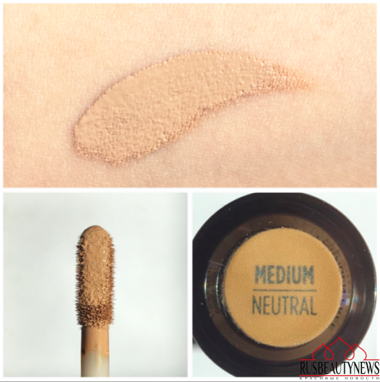 Naked Skin Weightless complete coverage concealer Review