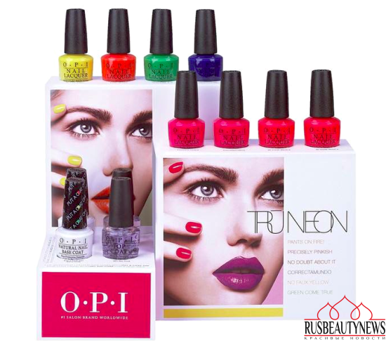 OPI Tru Neon 2016 Summer Collection